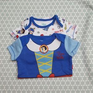 [NW] 2 Disney Snow White Onesies